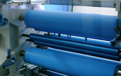 CI Flexo Press with Central Impression Drum